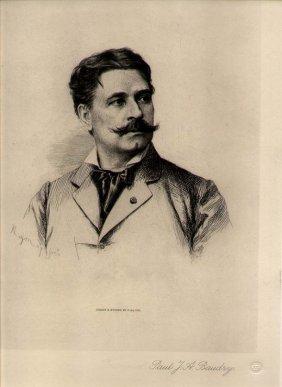 Paul A. Rajon (1843-1888) French Painter