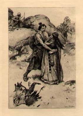 Original Etching By Boilot