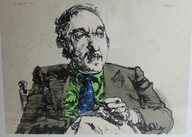 Harvey Breverman - Large Lithograph - 2