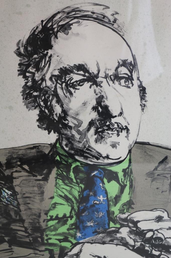 Harvey Breverman - Large Lithograph - 3