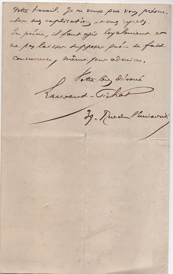 Leon Laurent-Pichat (1823-1886) French politician, - 2
