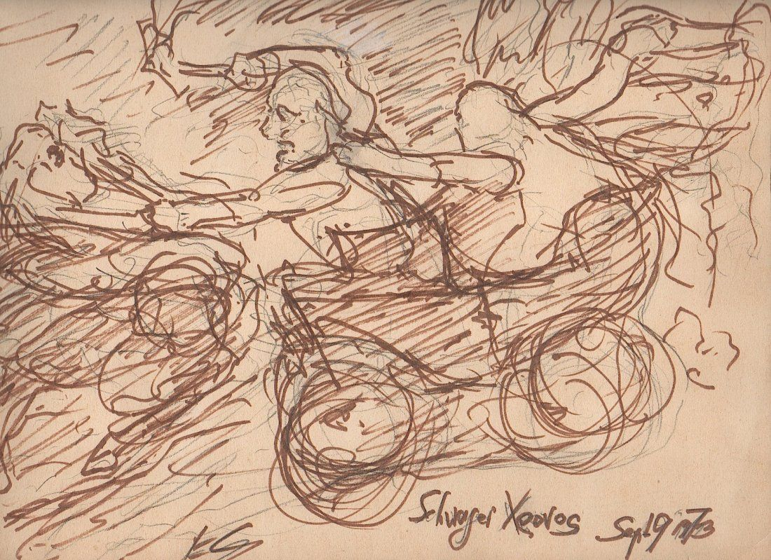 SOLOMON (1899-1980) German Expressionist