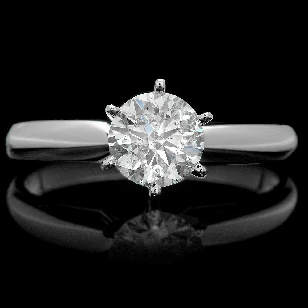 14k White Gold 1.07ct Diamond Ring