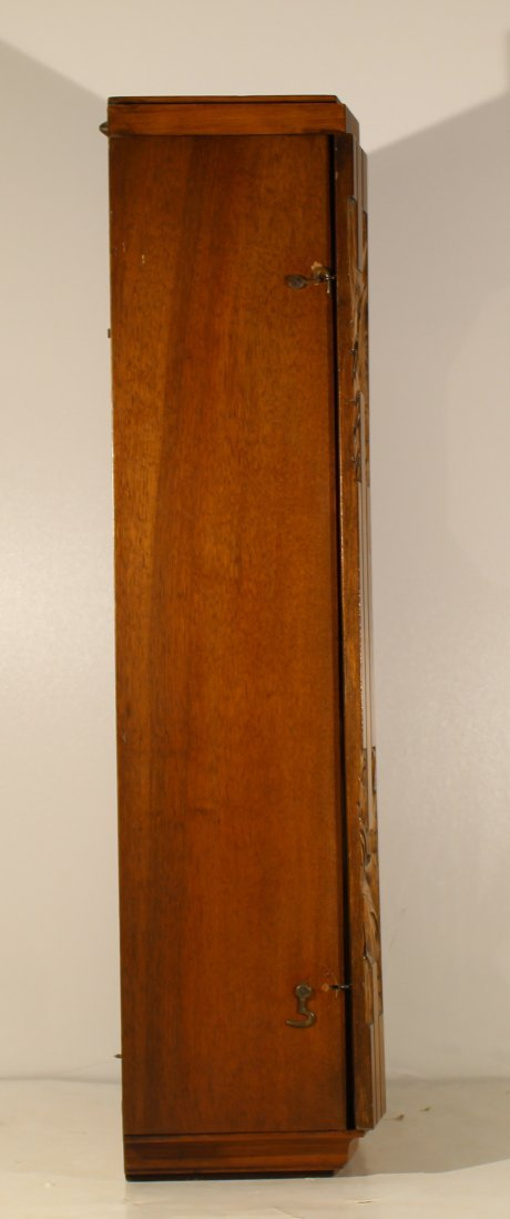 Vintage Art Deco French wall clock - 4