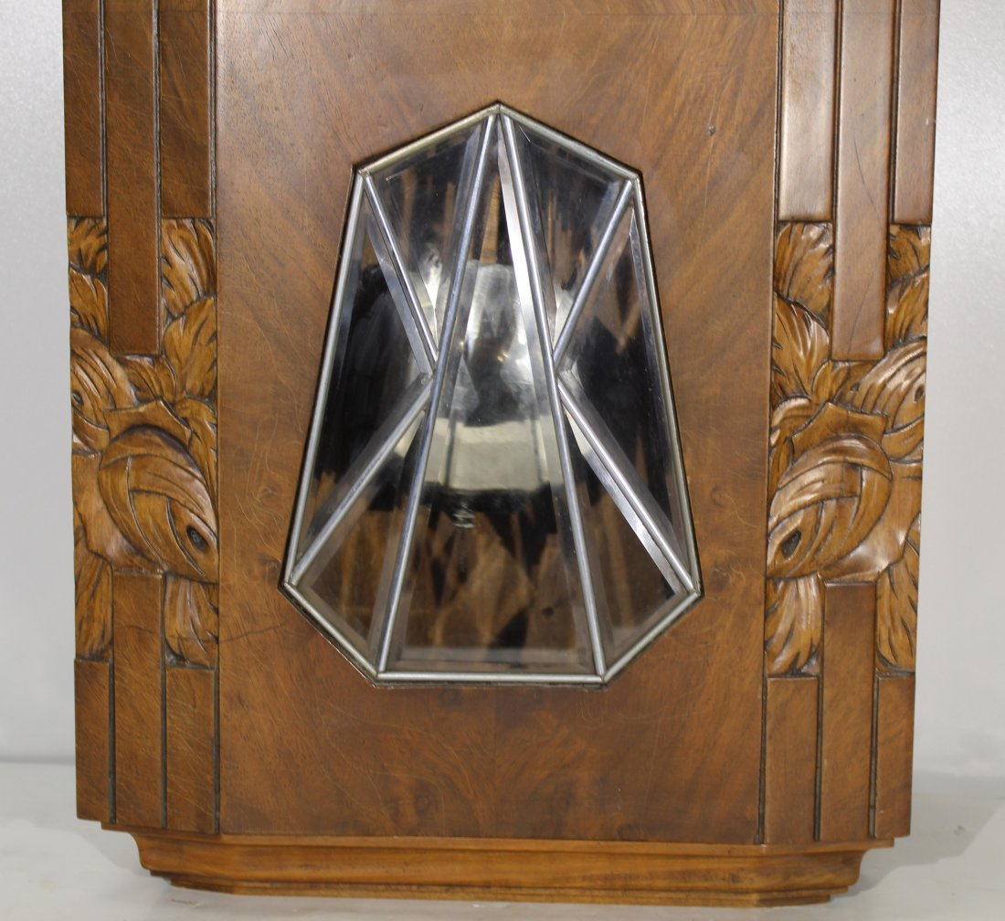 Vintage Art Deco French wall clock - 9