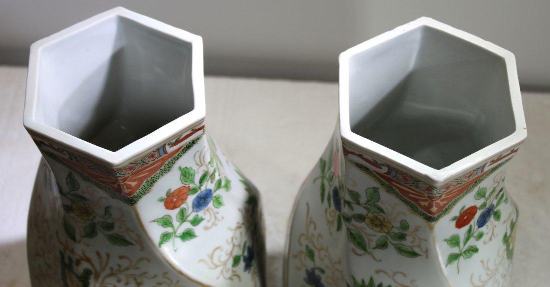 Pr. Japanese kakiemon style porcelain jars - 2
