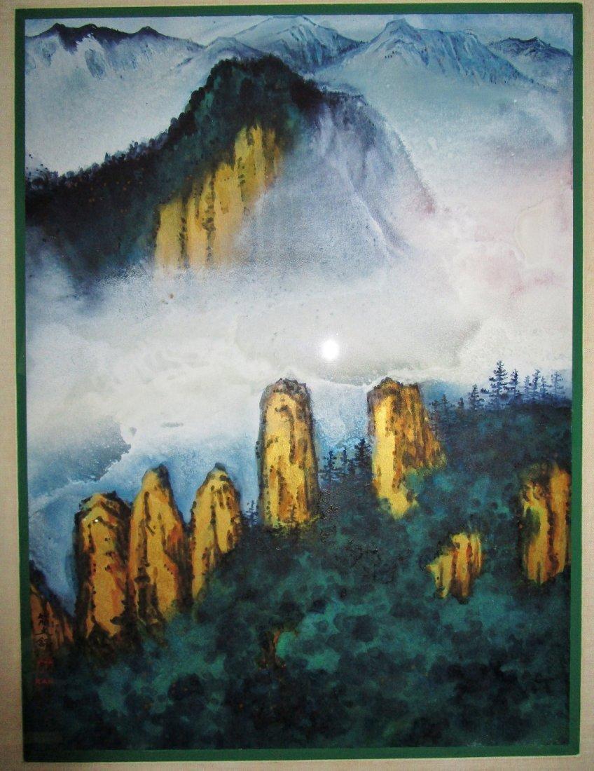 Chinese painting student of Zhang Daqian - Diana Kan