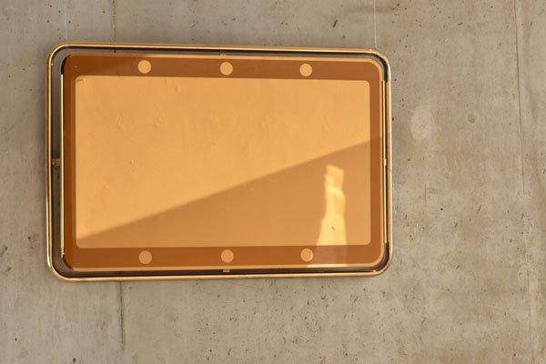 An original 1970's Italian mirror