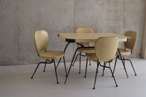 1960's Dining table and chairs