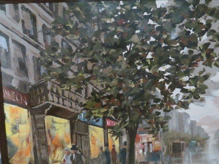 Lee Reynolds Signed Oil Painting, Mid-Century - 2