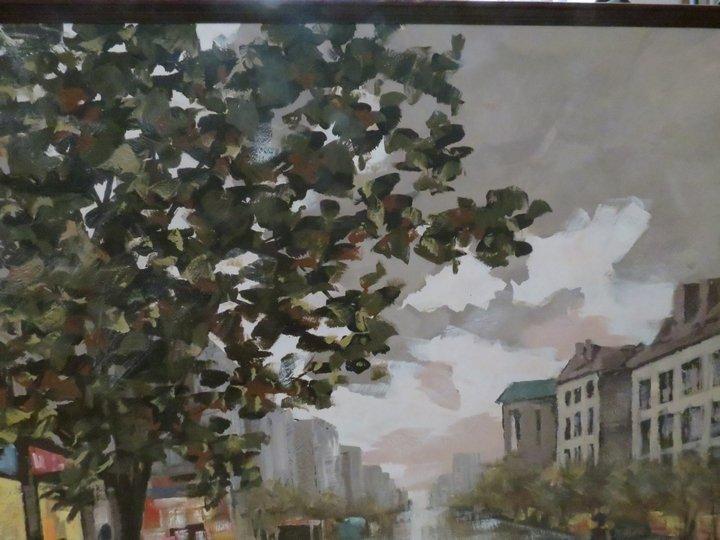 Lee Reynolds Signed Oil Painting, Mid-Century - 3