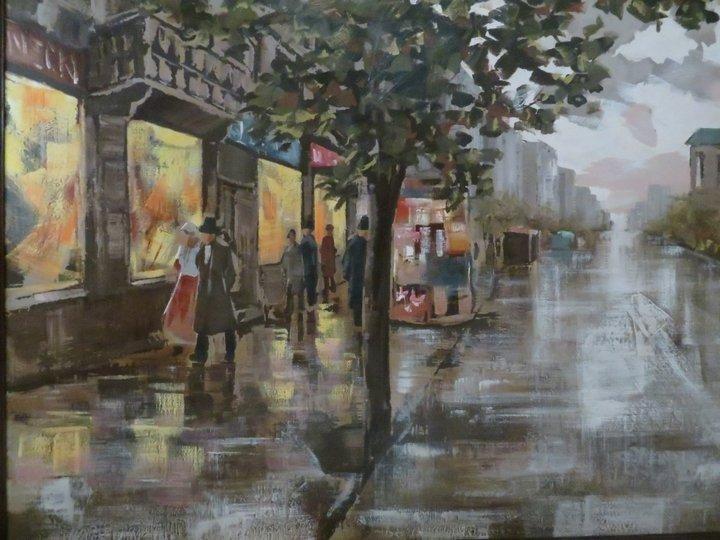 Lee Reynolds Signed Oil Painting, Mid-Century - 4