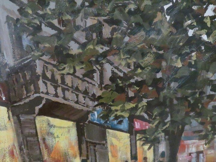 Lee Reynolds Signed Oil Painting, Mid-Century - 6