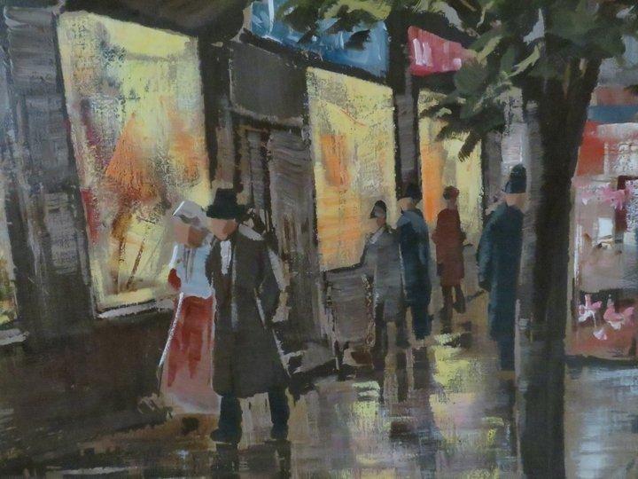 Lee Reynolds Signed Oil Painting, Mid-Century - 7