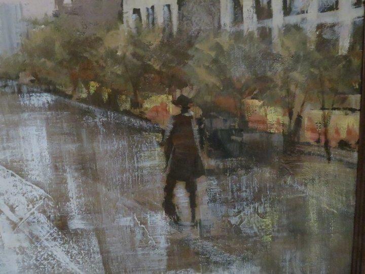 Lee Reynolds Signed Oil Painting, Mid-Century - 8