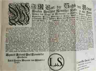137 17th-18th c. Royal Orders Leopold I Maria Theresia