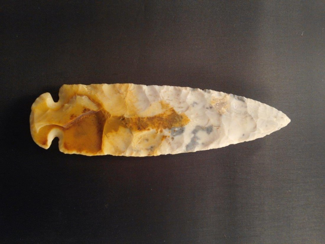 DOVETAIL  ARROWHEAD INDIAN ARTIFACT - 2