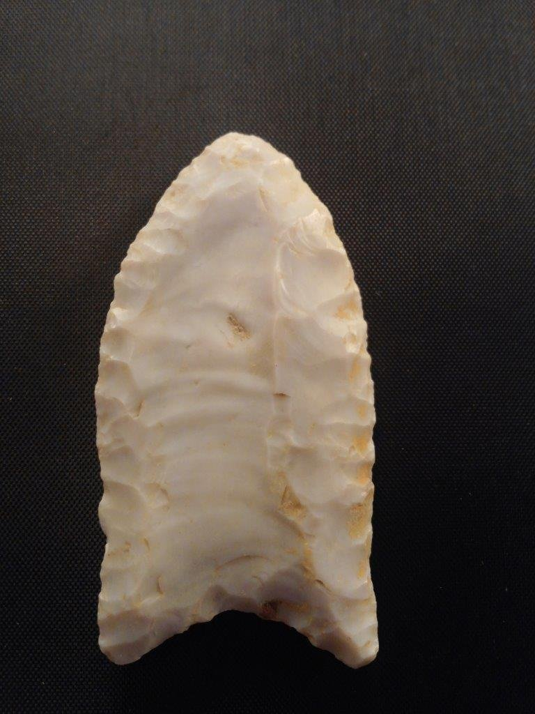 CLOVIS  ARROWHEAD INDIAN ARTIFACT - 2