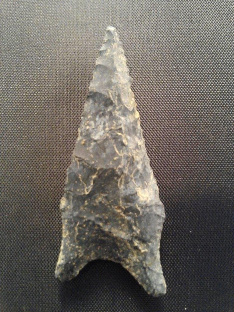 DALTON  ARROWHEAD INDIAN ARTIFACT - 2