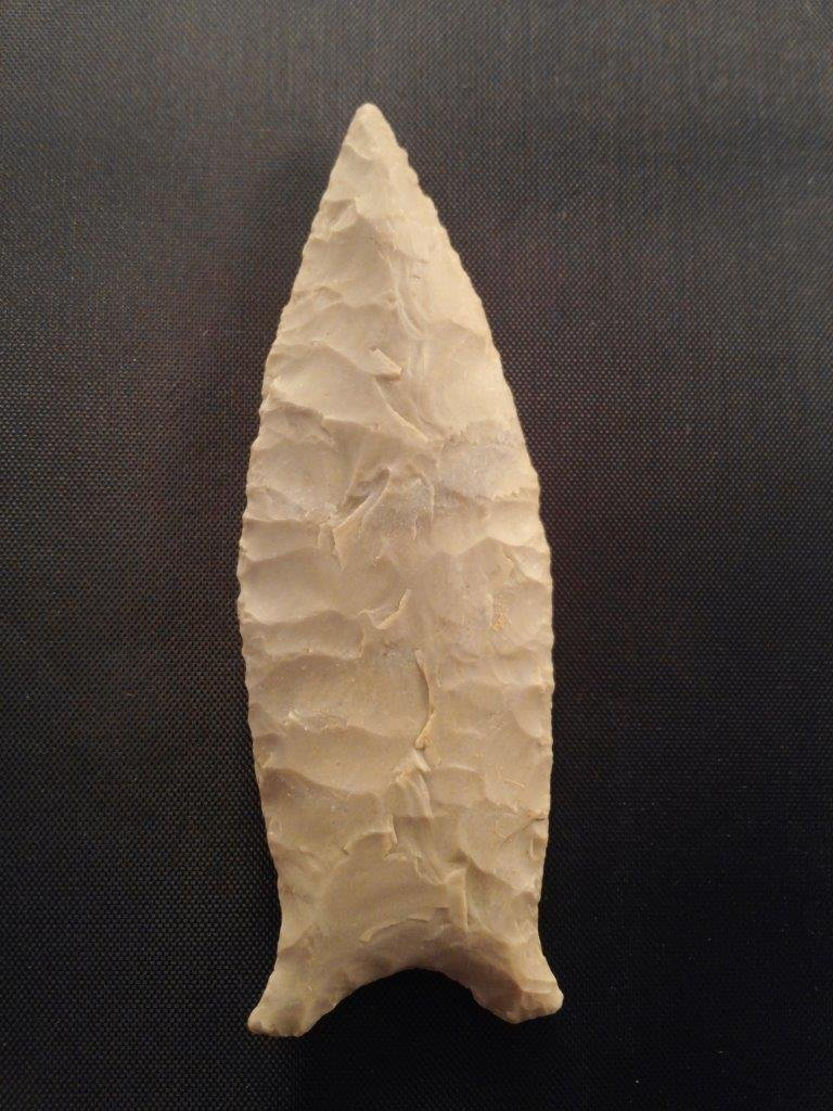 BEAVER LAKE   ARROWHEAD INDIAN ARTIFACT - 2