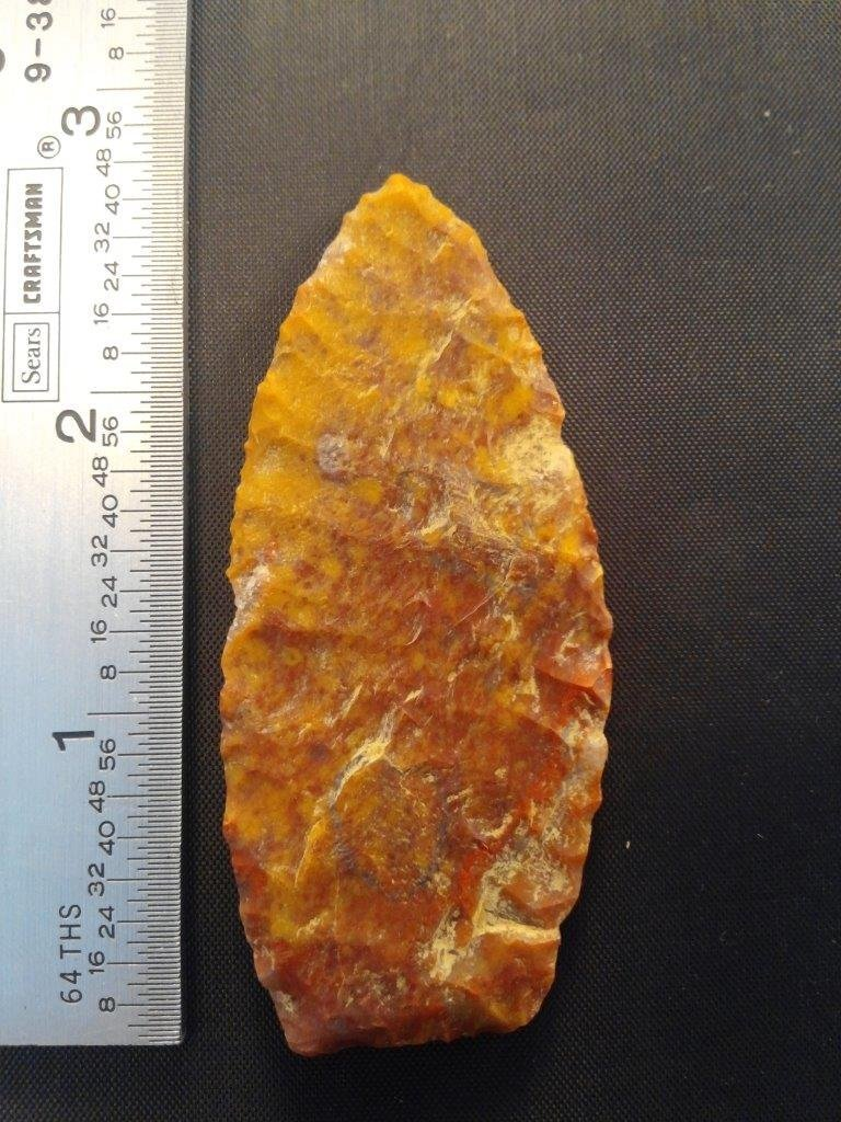 AGATE BASIN     ARROWHEAD INDIAN ARTIFACT