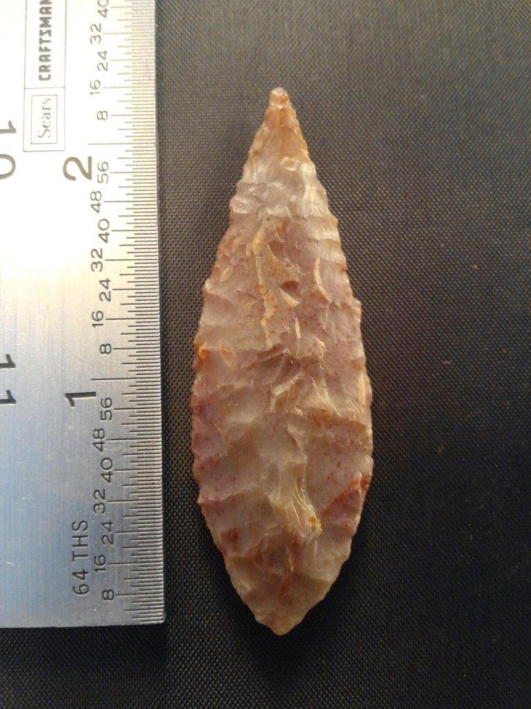 EARLY LEAF     ARROWHEAD INDIAN ARTIFACT