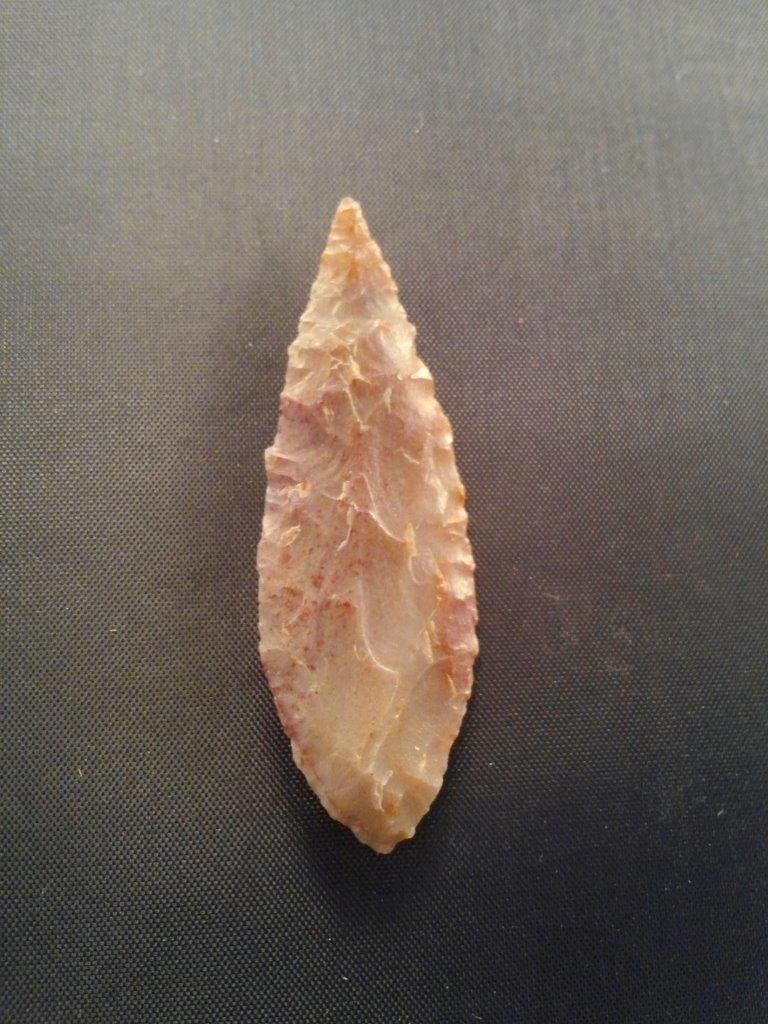 EARLY LEAF     ARROWHEAD INDIAN ARTIFACT - 2