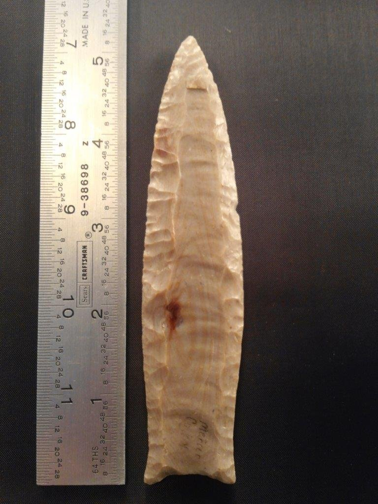 CUMBERLAND ARROWHEAD INDIAN ARTIFACT