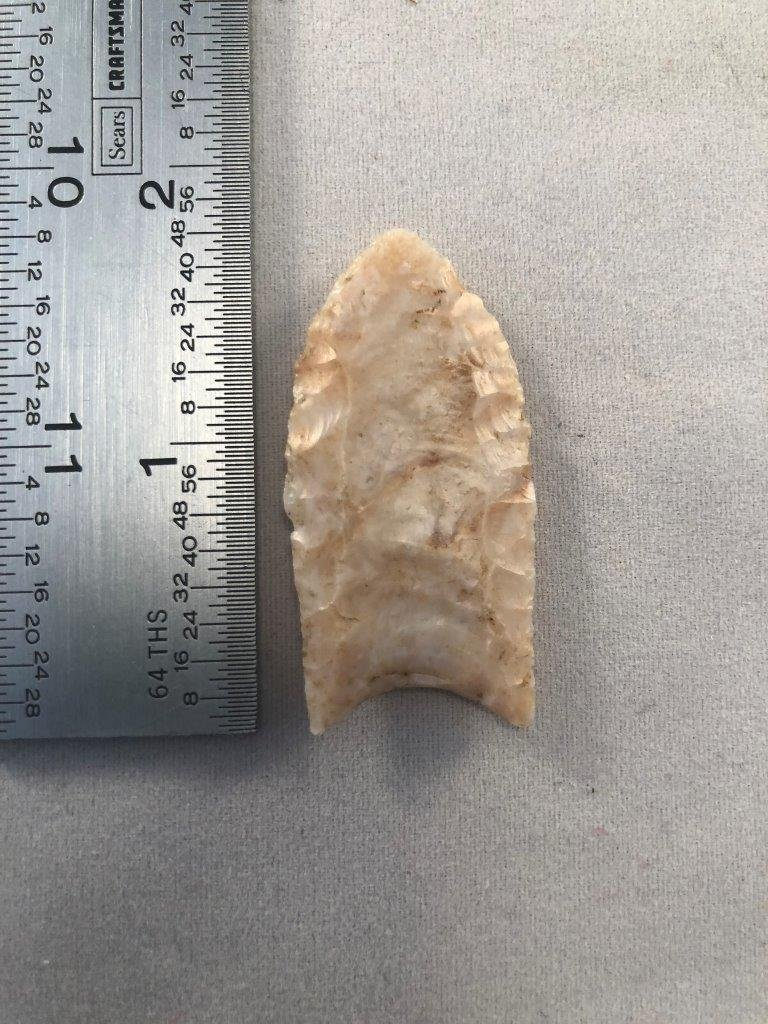 FOLSOM    INDIAN ARTIFACT ARROWHEAD