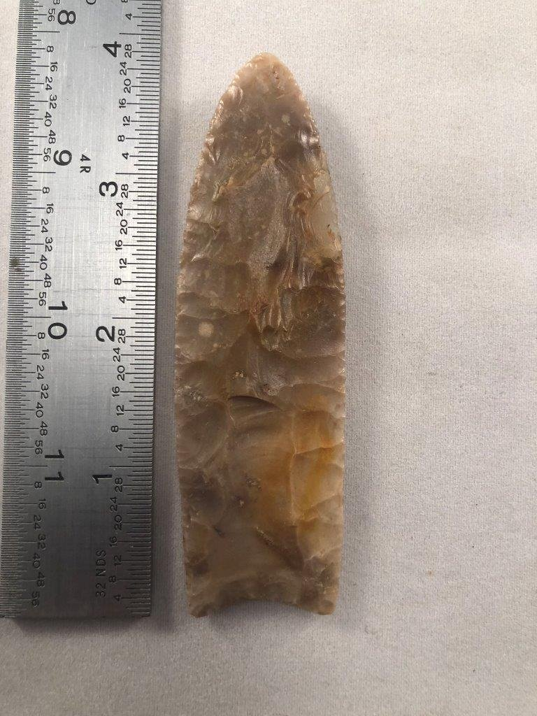 CLOVIS   INDIAN ARTIFACT ARROWHEAD