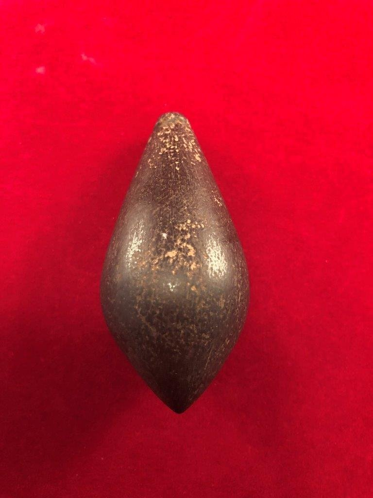 HEMATITE PLUMMET   INDIAN ARTIFACT ARROWHEAD - 2