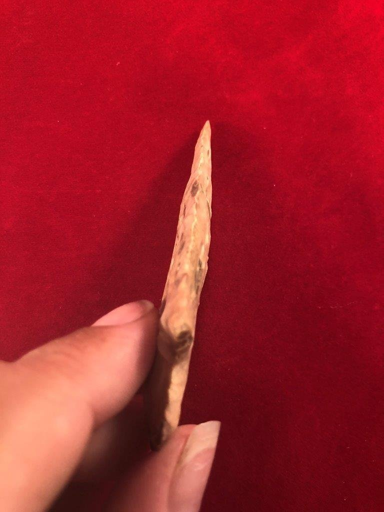 ETLEY     INDIAN ARTIFACT ARROWHEAD - 3