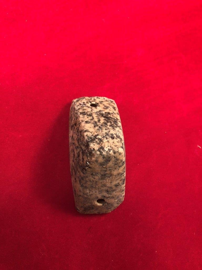 BOATSTONE  INDIAN ARTIFACT ARROWHEAD  WITH  COA - 4