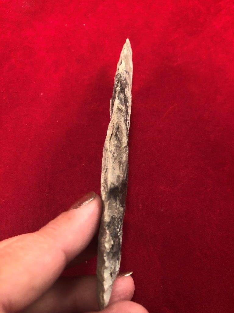 AGATE BASIN  INDIAN ARTIFACT ARROWHEAD - 3