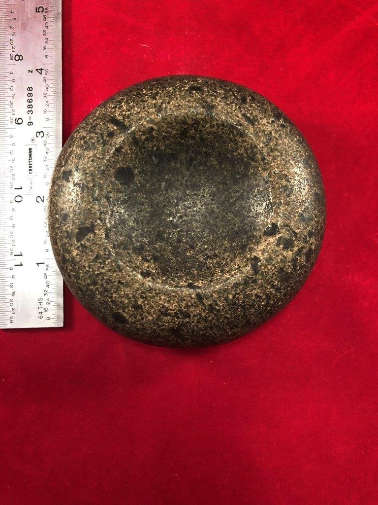 DISCOIDAL     INDIAN ARTIFACT ARROWHEAD