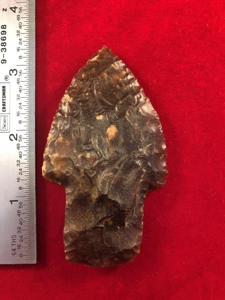 SCOTTSBLUFF II    INDIAN ARTIFACT ARROWHEAD