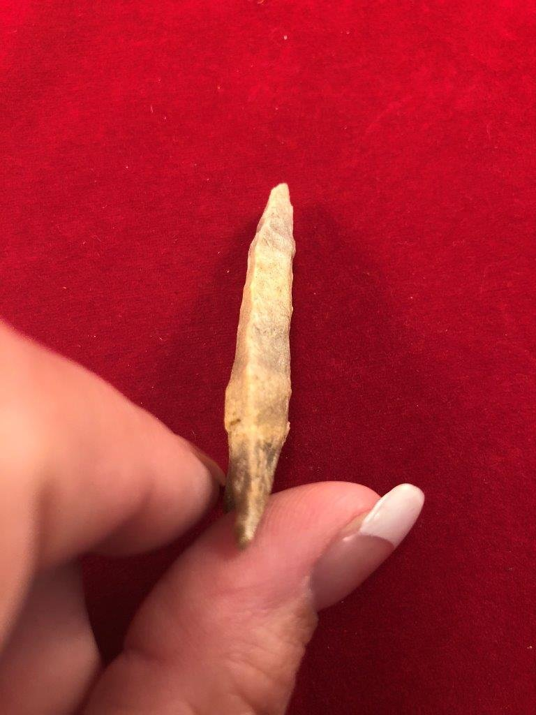DALTON    INDIAN ARTIFACT ARROWHEAD - 3