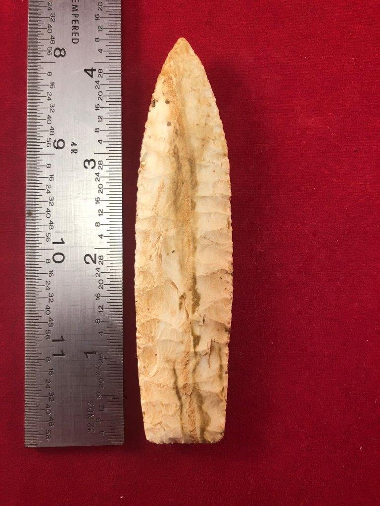AGATE BASIN    INDIAN ARTIFACT ARROWHEAD