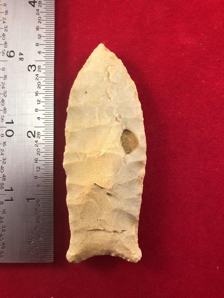 DALTON    INDIAN ARTIFACT ARROWHEAD