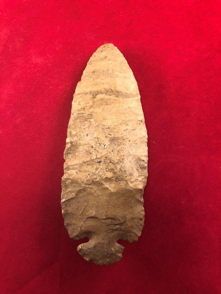 DOVETAIL    INDIAN ARTIFACT ARROWHEAD - 2
