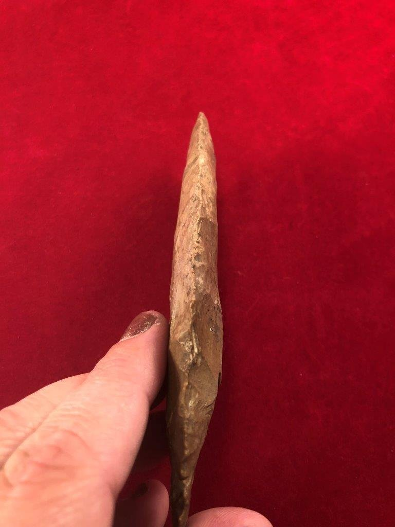 DOVETAIL    INDIAN ARTIFACT ARROWHEAD - 3