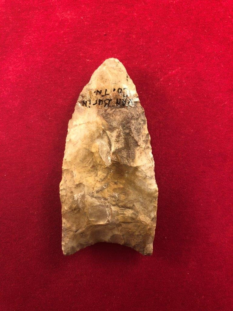CLOVIS    INDIAN ARTIFACT ARROWHEAD - 2