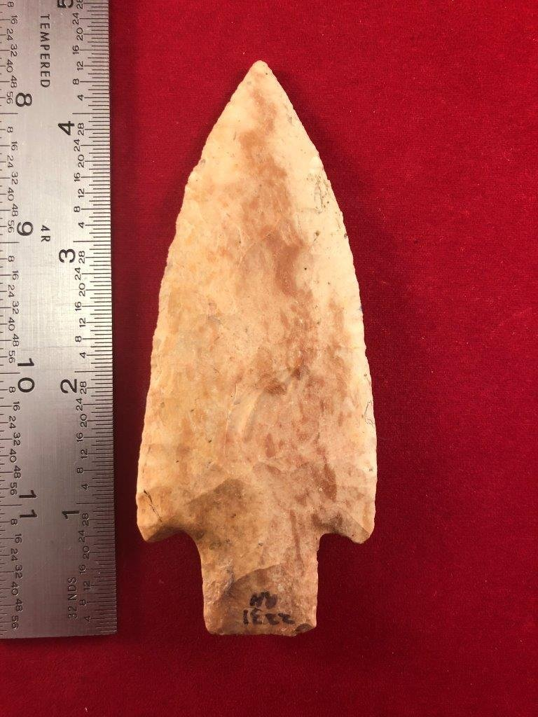 HARDIN    INDIAN ARTIFACT ARROWHEAD