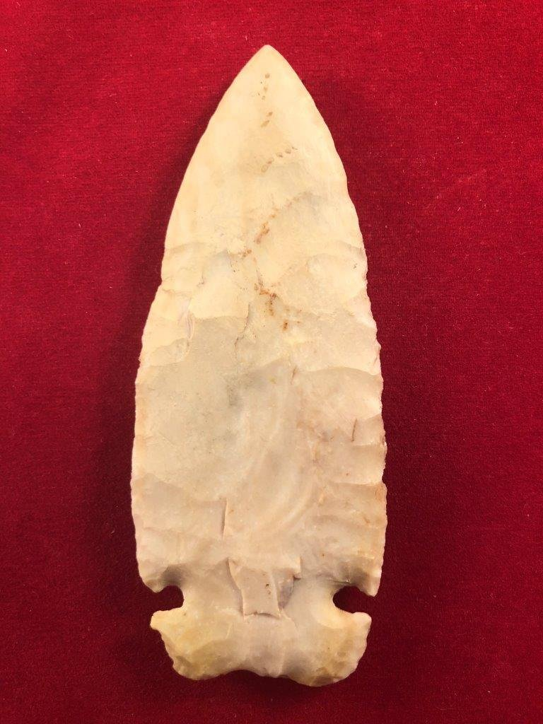 CACHE RIVER    INDIAN ARTIFACT ARROWHEAD - 2