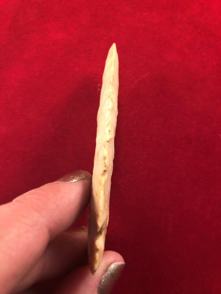CACHE RIVER    INDIAN ARTIFACT ARROWHEAD - 3