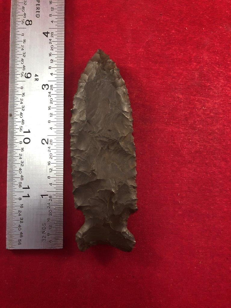 GRAHAM CAVE INDIAN ARTIFACT ARROWHEAD