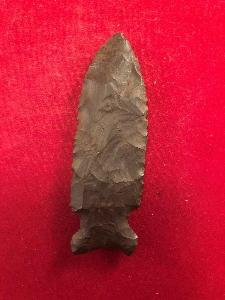 GRAHAM CAVE INDIAN ARTIFACT ARROWHEAD - 2