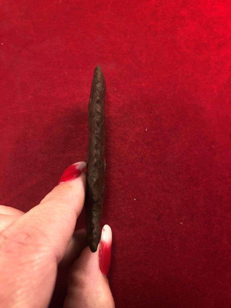 GRAHAM CAVE INDIAN ARTIFACT ARROWHEAD - 3