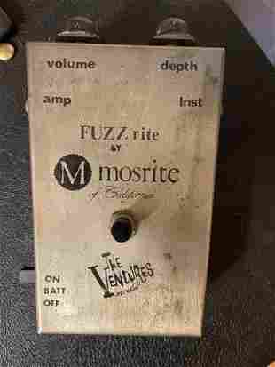 FUZZ RITE BY MOSRITE OF CALIFORNIA THE VENTURES MODEL