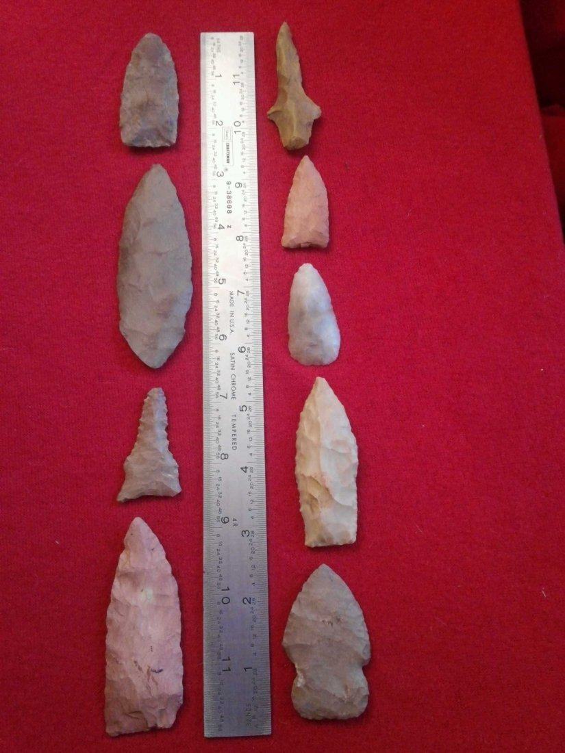 (9) TENNESSEE ARROWHEADS